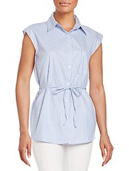 Candc California Pelican Belted Shirt Sky
