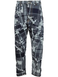 Vivienne Westwood Patterned Trousers Blue