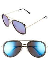 Women's Bp. 50Mm Mirrored Aviators