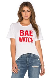 Private Party Bae Watch Tee White