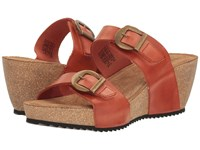 Taos Anna Burnt Orange Women's Shoes