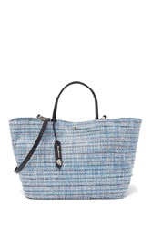 Tommy Bahama Mylos Woven Tote Ice Blue