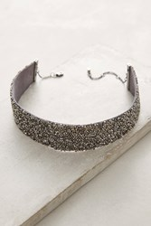 Anthropologie Deadee Choker Necklace Silver