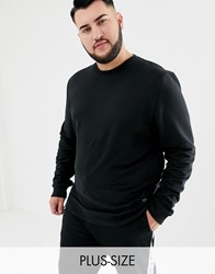 Only And Sons Crew Neck Sweat Black