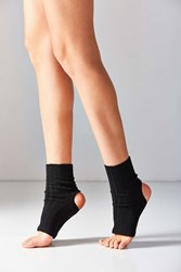 Out From Under Ribbed Yoga Sock Black