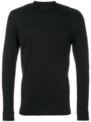 Natural Selection Beat Long Sleeve T Shirt Cotton S Black