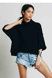 Free People Boxy Turtleneck Pullover