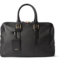 Thom Browne Grained Leather Briefcase Black