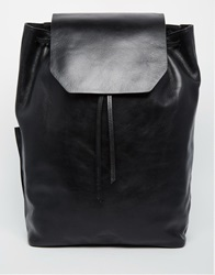 Royal Republiq Bucket Leather Backpack Black
