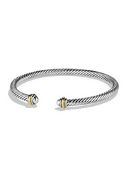 David Yurman Cable Classics Bracelet With Gold Silver Gold