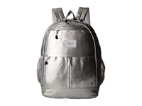 State Bags Metallic Leny Backpack Silver Backpack