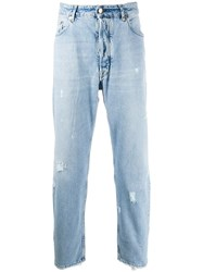 Golden Goose Distressed Free Jeans Blue