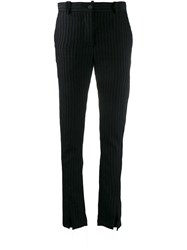 Masnada Eras Ribbed Trousers Black