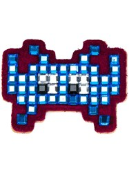 Anya Hindmarch 'Space Invaders' Sticker Blue