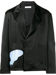 J.W.Anderson Relaxed Fit Snail Jacket Black