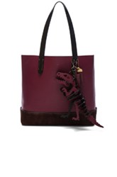 Coach 1941 Gotham Tote With T Rex Charm In Red