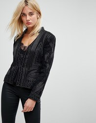 Bolongaro Trevor Unity Hand Beaded Jacket Black