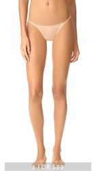 Calvin Klein Underwear Sleek String Bikini Panties Bare