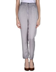 Byblos Casual Pants Lilac