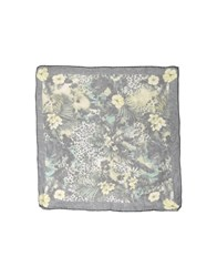 Messagerie Square Scarves Dark Green