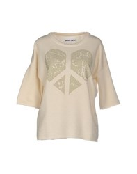 Brand Unique Topwear Sweatshirts Women Ivory