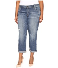 Lucky Brand Plus Size Reese Boyfriend In Northridge Park Northridge Park Women's Jeans Blue