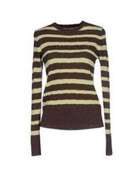 Fred Perry Sweaters Dark Brown