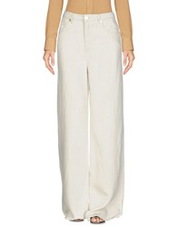 Max And Co. Casual Pants Ivory