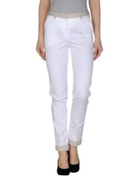 Malo Casual Pants White
