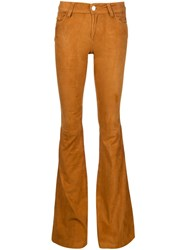 Alice Olivia Alice Olivia Flared Trousers Brown