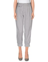 Dondup Trousers Casual Trousers Women Light Grey
