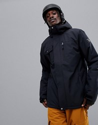 Quiksilver Mission Solid Jacket In Black