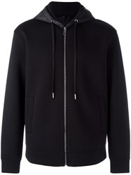 Plac 'Oversized' Zipped Hoodie Black