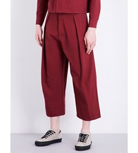 Toogood Tinker Wide Leg Cropped Cotton Trousers Barn