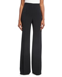 Andrew Gn Classic Side Zip Pants Black