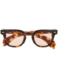 Jacques Marie Mage Square Frame Sunglasses 60