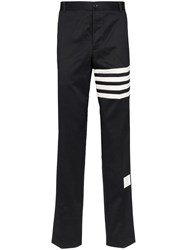 Thom Browne Unconstructed Chino Trousers 415Fw19 Blue