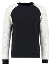 Only And Sons Onspeter Sweatshirt Black White Melange