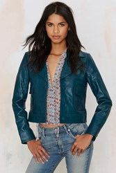 Nasty Gal Hustler Leather Jacket