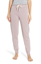Alternative Apparel High Waist Ribbed Jogger Pants Eco True Pale Violet