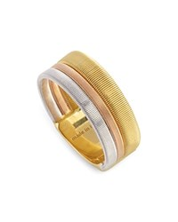 Marco Bicego 18K Yellow Rose And White Gold Goa Ring Gold Multi