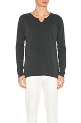 Scotch And Soda Long Sleeve Tee Charcoal