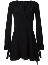For Love And Lemons Lace Detail Dress Black