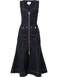 Alice Mccall Bloomsbury Midi Dress Blue