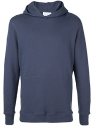 John Galliano Cadet Hoody Blue