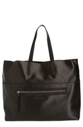Pedro Garcia Satin Shopper Black Meteorite
