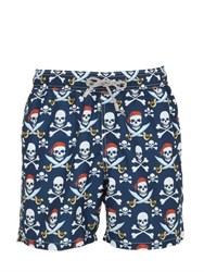 Mc2 Saint Barth Gustavia Saber Pirate Swim Shorts