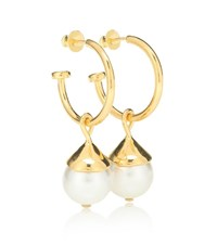Sophie Buhai Everyday Pearl 18Kt Gold Plated Earrings
