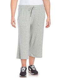 Marc New York Heather Capri Pants Light Grey Heather