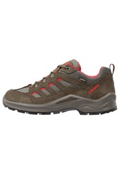 Lowa Sesto Gtx Walking Shoes Oliv Rot Dark Green